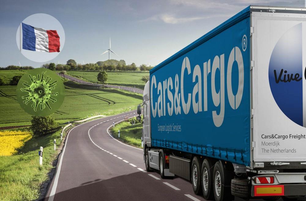 Frankrijk transport goederentransport